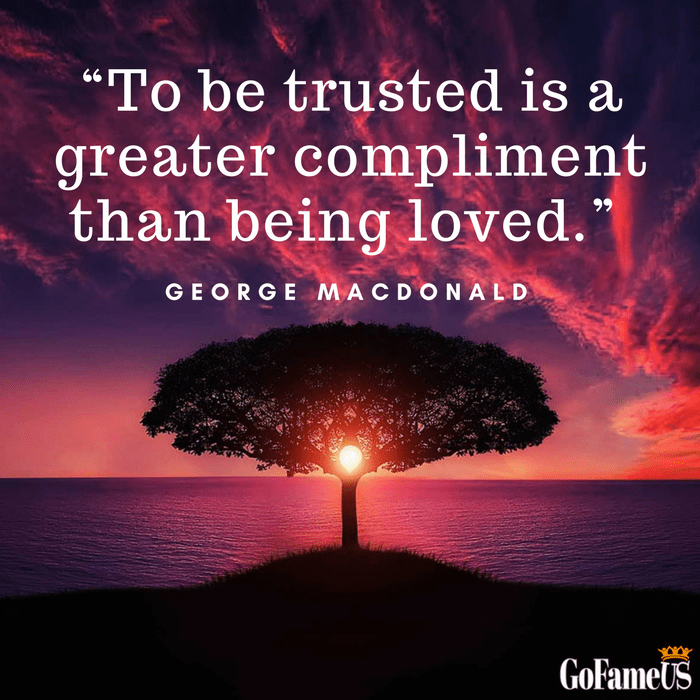 quotes on trust by George MacDonald