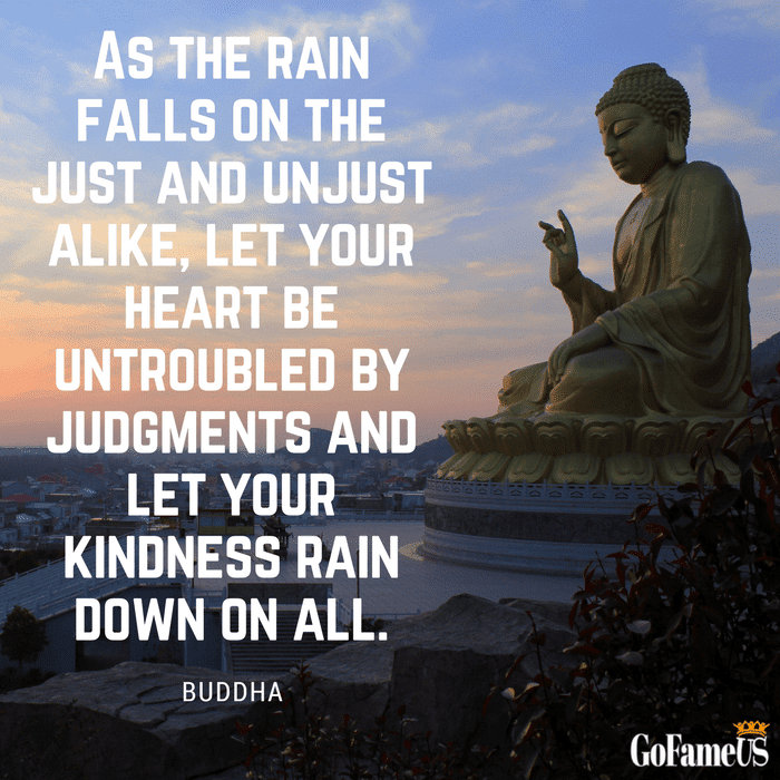 quotes on kindness by Buddha