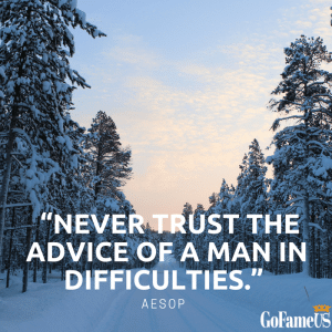 quotes on trust Aesop
