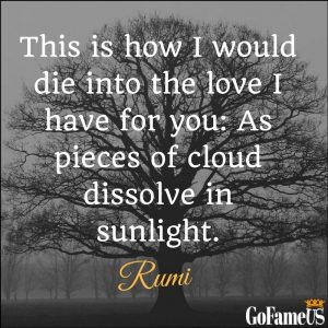 rumi quotes on love, life, friendship, death