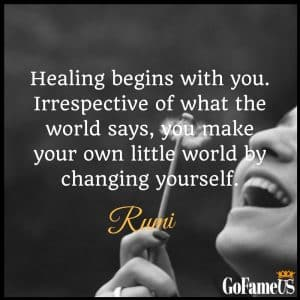 Rumi quotes on love, life, death, friendship and healing