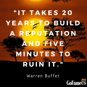 quotes on trust by warren buffet