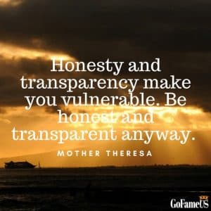 quotes on authenticity and being sincere by mother teressa