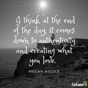 quotes on authenticity and being sincere by megan nicole