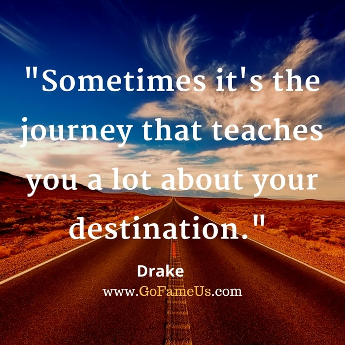 30 Top Inspirational Quotes On Journey Of Life And Destination Images