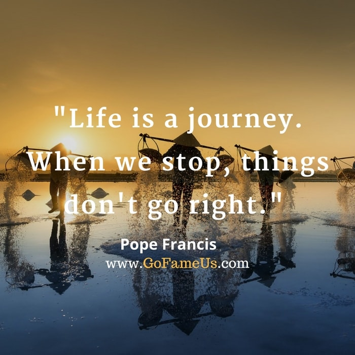 quotes about journey of life and destination