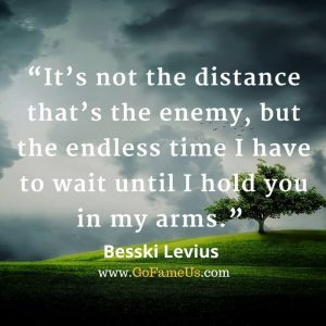 Long distance relationship quotes for boyfriend/girlfriend