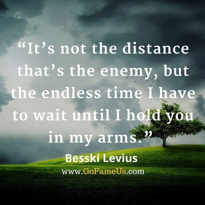 30 Best Long Distance Relationship Quotes For Boyfriendgirlfriend