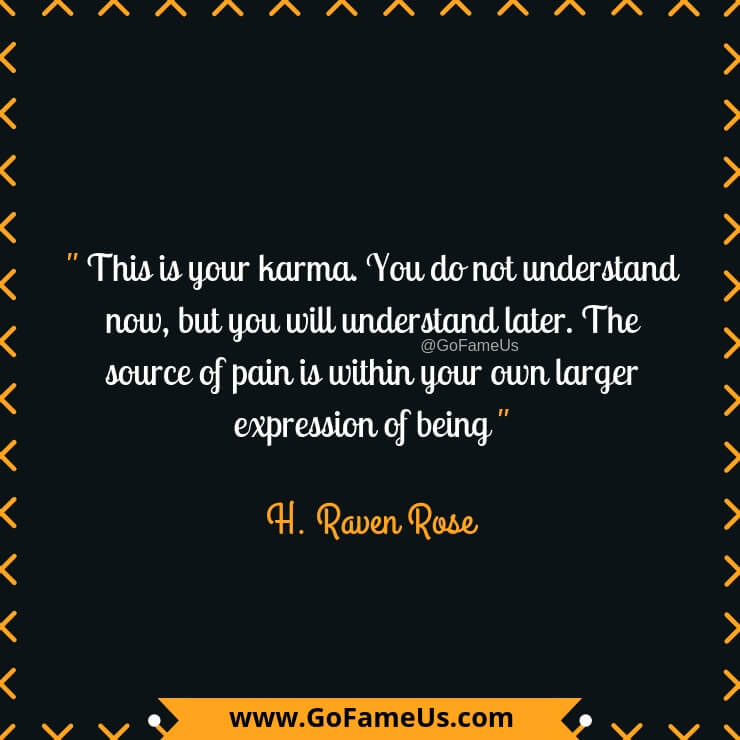 30 Picture Quotes About Karma To Enlighten Your Life In A Biggg Way