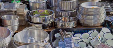 Cook with Aluminium Cookware
