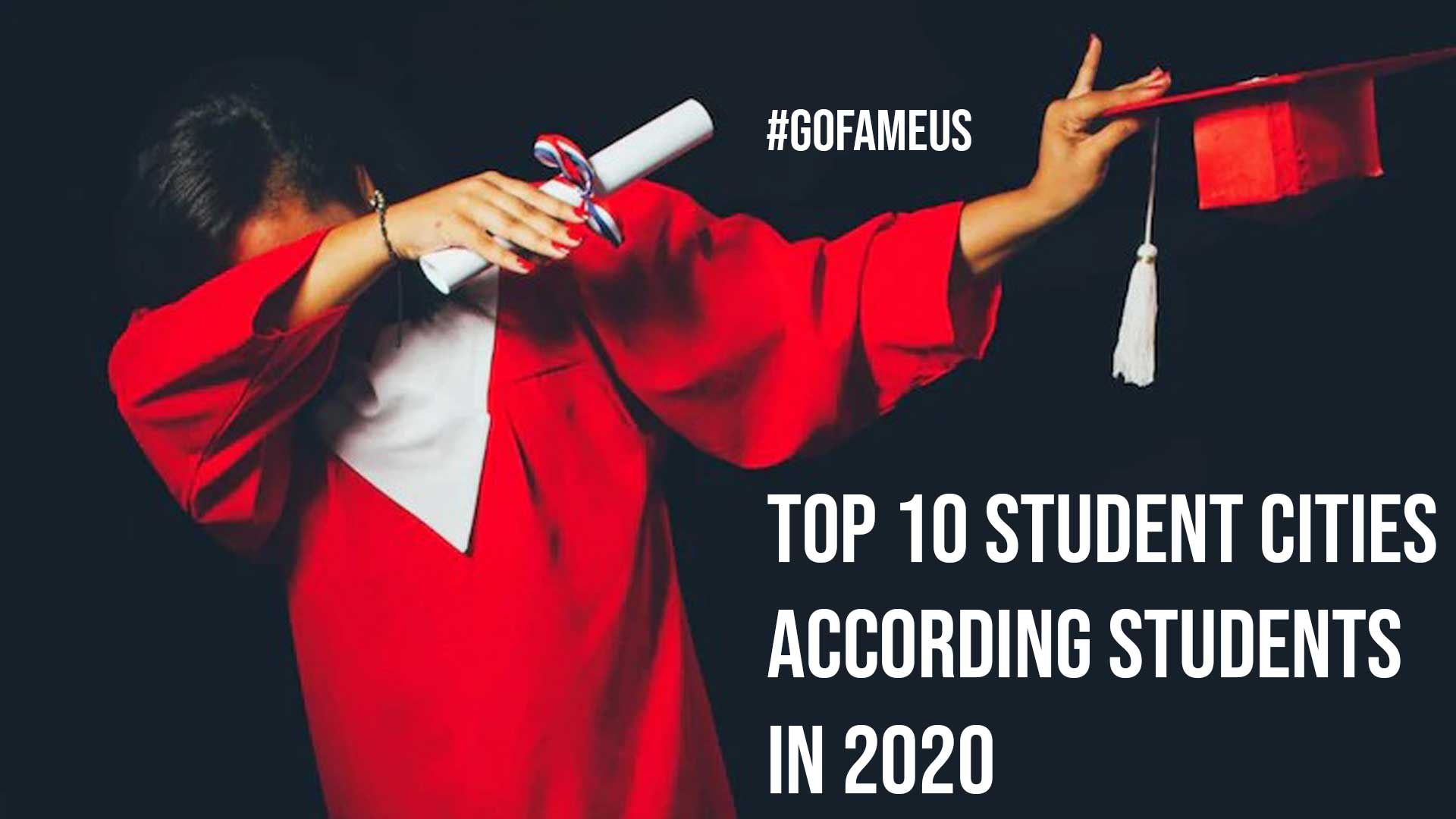 Top 10 Student Cities According Students in 2020