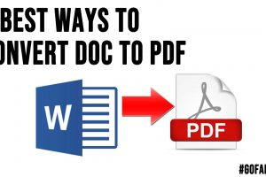 3 Best Ways to Convert DOC to PDF