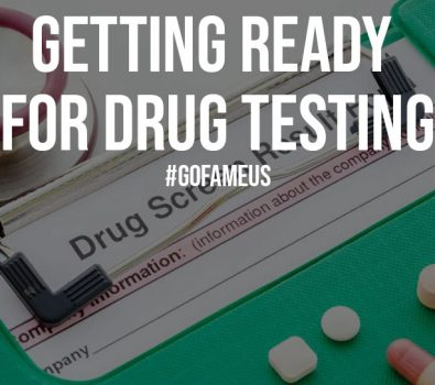 Getting Ready for Drug Testing