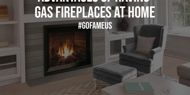 Advantages Of Having Gas Fireplaces At Home